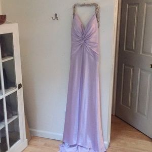 Faviana lavender evening gown